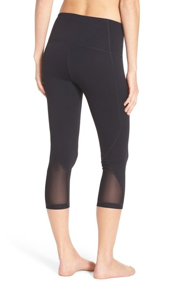 Zella Hatha Highwaist Crop Leggings