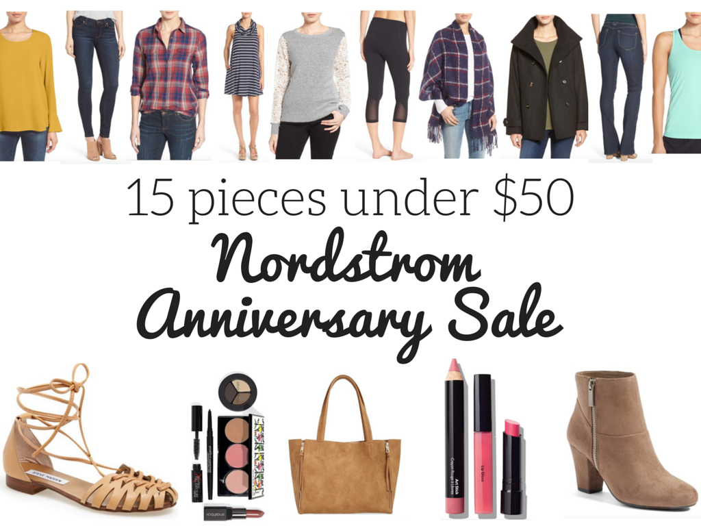 15 pieces under $50 nordstrom anniversary sale